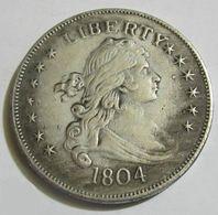 MONETA USA 1804 STATI UNITI D'AMERICA LIBERTY  COIN  COD G2 - Verzamelingen