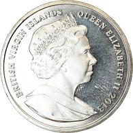 Monnaie, BRITISH VIRGIN ISLANDS, Dollar, 2013, Franklin Mint, Duc De Cambridge - Iles Vièrges Britanniques