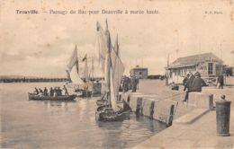 Trouville (14) - Passage Du Bac Pour Deauville à Marée Haute - Trouville
