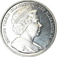 Monnaie, BRITISH VIRGIN ISLANDS, Dollar, 2006, Franklin Mint, Dauphins, SPL - Iles Vièrges Britanniques