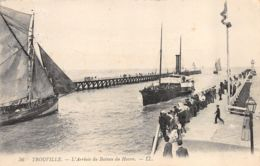 Trouville (14) - L'Arrivée Du Bâteau Du Havre - Trouville