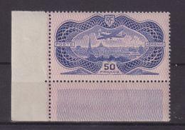 FRANCE : PA . N° 15 ** . LUXE . CDF . CERTIFICAT SCHELLER . 1936 . ( CATALOGUE YVERT ) . - Airmail
