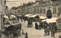 D88 REMIREMONT Le Marché - Remiremont