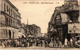 CPA PARIS 13e - Rue Nationale (80992) - Arrondissement: 13