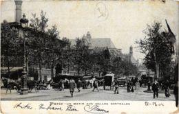 CPA PARIS 1e - Un Matin Aux Halles Centrales (81404) - Petits Métiers à Paris
