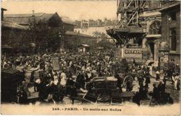 CPA PARIS 1e - Un Matin Aux Halles (81414) - Petits Métiers à Paris