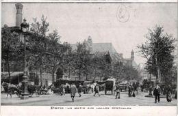 CPA PARIS 1e - Un Matin Aux Halles Centrales (81417) - Petits Métiers à Paris
