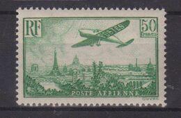 FRANCE : PA . N° 14 ** . LUXE . CERTIFICAT SCHELLER . 1936 . ( CATALOGUE YVERT ) . - Airmail