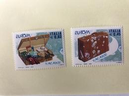 EUROPA CEPT 2004 ITALIE 2 V Neuf ** MNH ** YT 2715 2716 Vacances Holidays ITALY ITALIA - Europa-CEPT