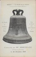 Massat - Le Cloche De La Victoire Consacrée Par Mgr Marceillac, évêque De Pamiers,  Le 28 Décembre 1919 - Andere Gemeenten