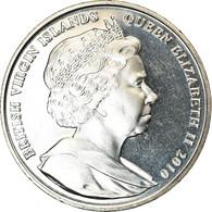Monnaie, BRITISH VIRGIN ISLANDS, Dollar, 2010, Franklin Mint, Coupe Du Monde De - Iles Vièrges Britanniques