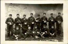 MILITARIA - Carte Postale Photo - Groupe De Soldats Avec Leurs Gamelles  - L 66852 - Personnages