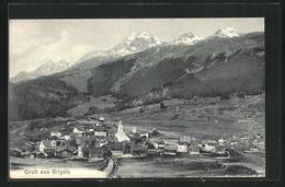 AK Brigels, Ortsansicht - GR Graubünden