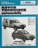 « CITROËN VISA Diesel Et C 15 D » In « Revue Technique Automobile » (1987) - Cars