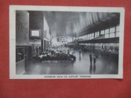 Interior View Newark  Airport Terminal    - New Jersey   Ref 4287 - Autres