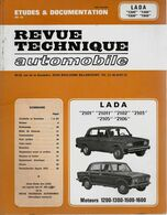 « LADA 2101 – 21011 – 2102 – 2103 – 2105 – 2106 – Moteurs 1200 – 1300 – 1500 - 1600 » In « Revue Technique Automobile » - Cars