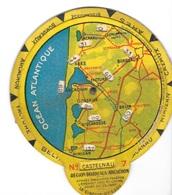 """CENON (33-Gironde) Publicité Station Service Shell  """" Mr BAYLE """" Rond Kilométrique Région Bordeaux-Arcachon - Publicités"""