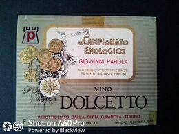 DOLCETTO PAROLA - ETICHETTA - ÉTIQUETTE - Vino Rosso