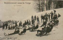 D88  REMIREMONT  Sous La Neige ...... Les Sports - Remiremont