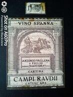 SPANNA 1964 - CANTINA CAMPI RAUDI - ETICHETTA - ÉTIQUETTE - Vino Rosso