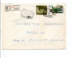 ESPAGNE AFFRANCHISSEMENT COMPOSE SUR LETTRE RECOMMANDEE POUR LA HOLLANDE 1979 - 1931-Heute: 2. Rep. - ... Juan Carlos I
