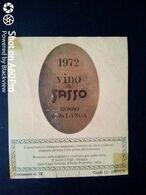 VINO DI SASSO 1972 - ROSSO DELLA LANGA - CANTINA ALFREDO PRUNOTTO, ALBA (CUNEO) - ETICHETTA - ÉTIQUETTE - Vino Rosso