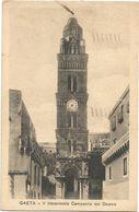 XW 3781 Gaeta (Latina) - Il Trecentesco Campanile Del Duomo / Viaggiata 1936 - Italy