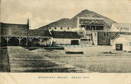1909 Magdalena Baja California Mexico PC: Town Visited For Navy Gunnery Practice - Mexique