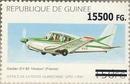Guinea 2008, Planes, Gardan Overprinted 1val - Guinée (1958-...)