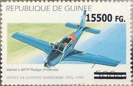 Guinea 2008, Planes, Valmet Overprinted 1val - Guinée (1958-...)