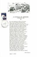 11172034 BE 19720423 Jemappes; Journée Du Timbre, Apollo 15; Fllet Bataille De Jemappes Cob1622 - Feuillets