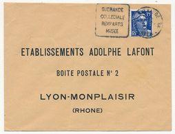 "FRANCE - Env Affr 15F Gandon - Obl Daguin ""GUERANDE Collégiale Remparts Musée"" - 1945-54 Marianne De Gandon"