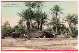 CPA ALGERIE COLOMB BECHAR   Tentes De Beni Guil Dans L' Oasis - Bechar (Colomb Béchar)