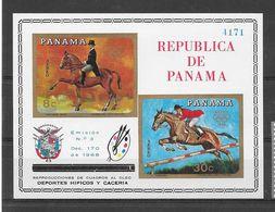 Panama Bloc Non Dentelé Imperf ND JO 68 ** - Zomer 1968: Mexico-City