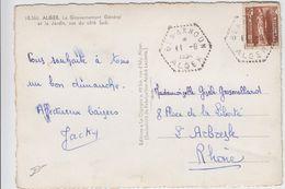 ALGERIE CP 1954 BENAKNOUN AGENCE POSTALE - Algeria (1924-1962)