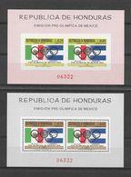 Honduras Blocs JO 68 ** - Zomer 1968: Mexico-City