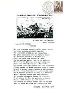 11172038 BE 19720508 Cuesmes; Propagante Philatélique; Fllet Maison De Van Gogh - Feuillets