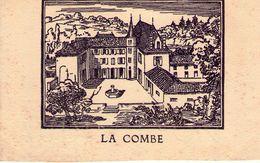 MENU - LA COMBE - IRIGNY -  12 JANVIER 1957 - FILIGRANE AUDIN LYON - Menus