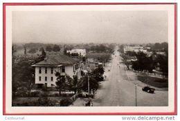 CPSM CONGO POINTE NOIRE A.E.F.  Perspective Sur L' Avenue Général De Gaulle    *  Format CPA - Pointe-Noire