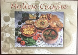 Malta 2002 Maltese Cuisine Minisheet MNH - Malta
