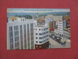 Has 2 Stamps & Cancel    Bogota  Colombia   Ref 4287 - Kolumbien