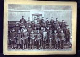 PHOTO  REGIMENT 44e 60e  A IDENTIFIER BESANCON LONS - Krieg, Militär