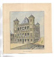 """Document Illustré Par L. BOMBLED Extrait Du Livre """" La Guerre à Madagascar """" Grand Palais De RANAVALO - Dokumente"""