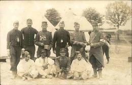 MILITARIA - Carte Postale Photo - Soldats En Bivouac - L 66883 - Personnages