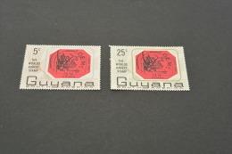 K10472- Set MNH Guyana 1967 The Worlds Rarest Stamp British Guiana - Postzegels Op Postzegels