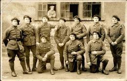 MILITARIA - Carte Postale Photo - Groupe De Chasseurs - L 66892 - Personnages