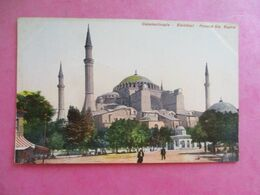TURQUIE CONSTANTINOPLE STAMBOUL MOSQUÉE SAINTE SOPHIE - Turchia