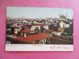 TURQUIE CONSTANTINOPLE VUE GÉNÉRALE DE STAMBOUL - Turchia