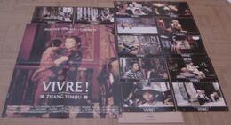 AFFICHE CINEMA ORIGINALE FILM VIVRE ! + 12 PHOTOS EXPLOITATION YIMOU GONG LI GE YOU CHINE 1994 TBE - Affiches & Posters