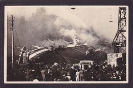 CPA Bateau Paquebot PARIS Le Havre Carte Photo Non Circulé Catastrophe. - Steamers